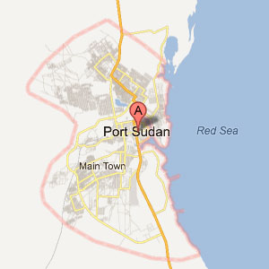 Port Sudan Map